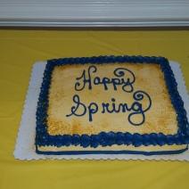 Happy Spring cake!